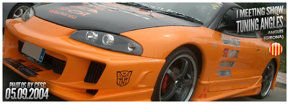 FOTOS I SHOW TUNING ANGLES