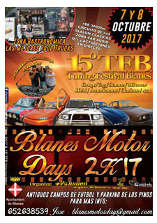 BLANES MOTOR DAYS 2017