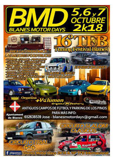 BLANES MOTOR DAYS 2K18