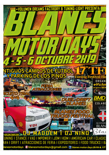 BLANES MOTOR DAYS 2K19