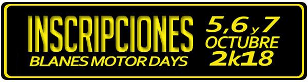BLANES MOTOR DAYS