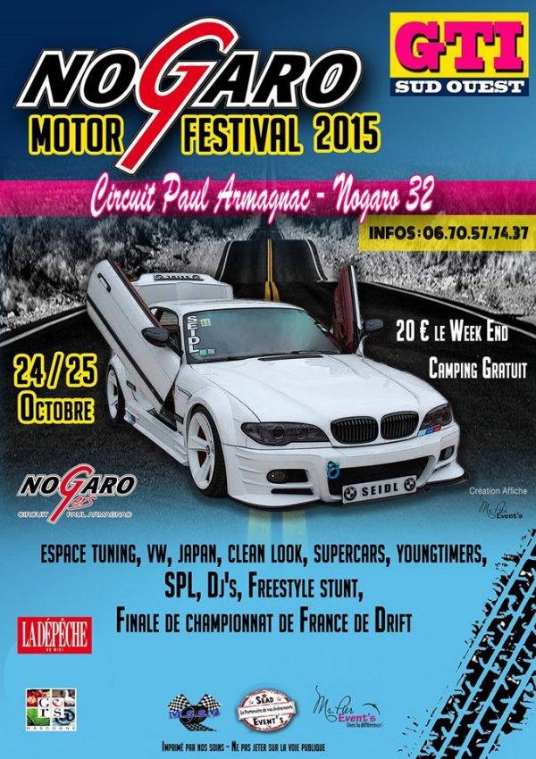 MOTOR'S SHOW FESTIVAL SUD OUEST NOGARO