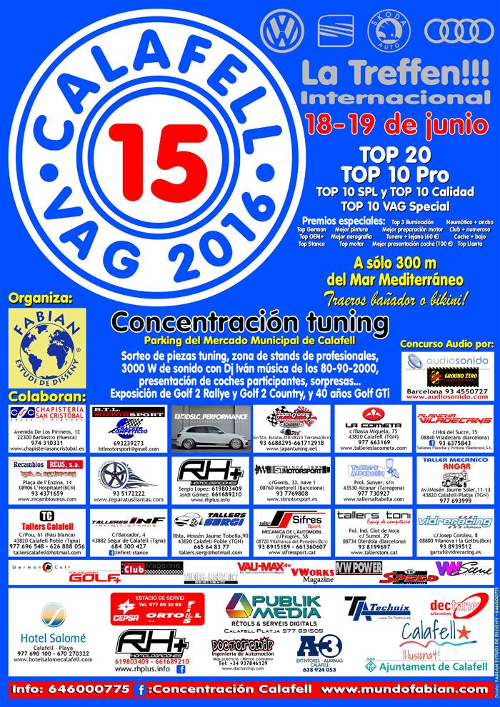 15ª CONCENTRACIÓN TUNING INTERNACIONAL GRUPO VAG