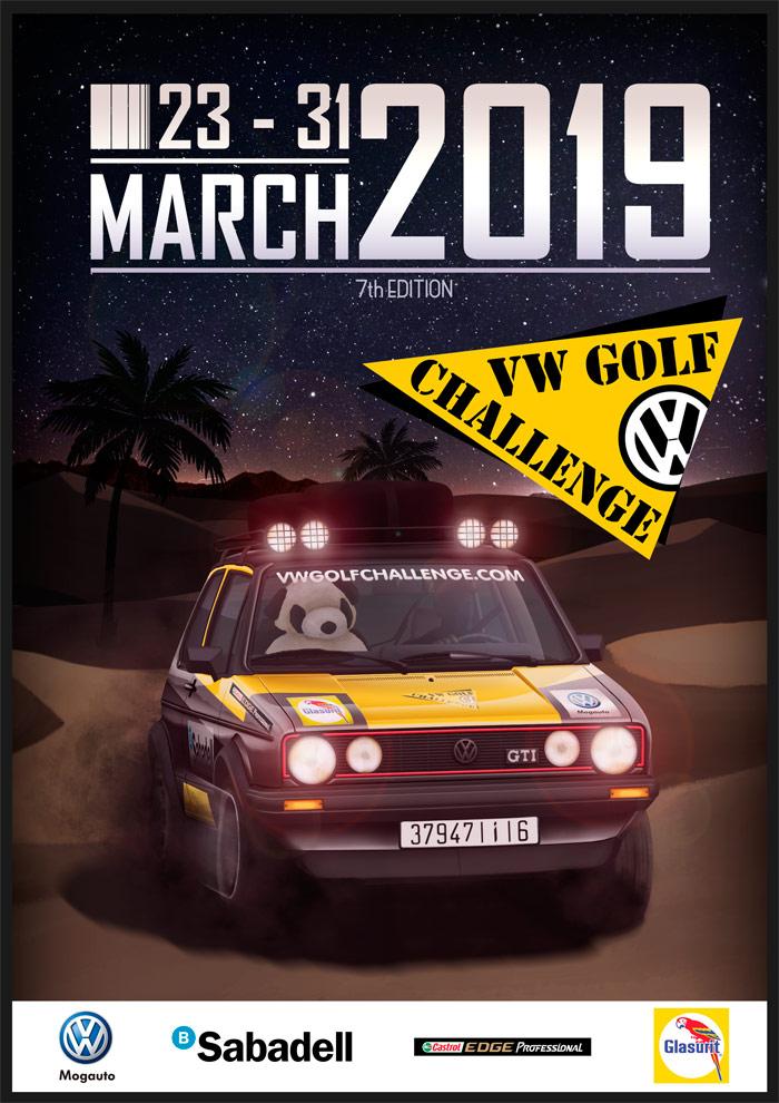 VW GOLF CHALLENGE 2K18