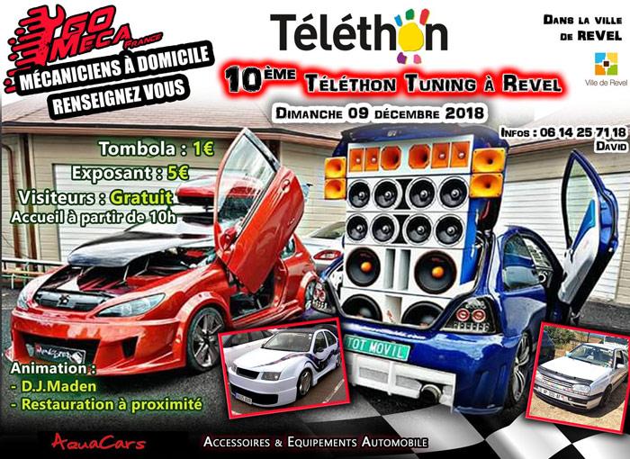 10eme TELETHON REVEL