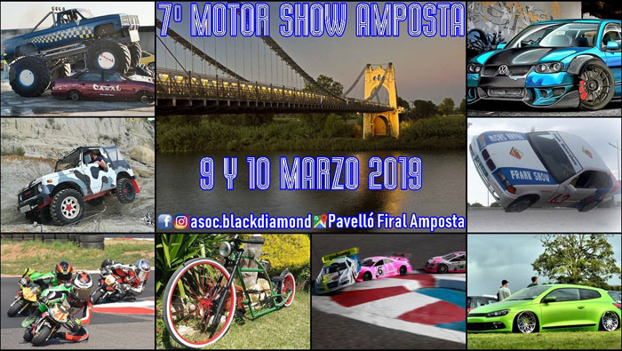 MOTOR SHOW AMPOSTA 2019