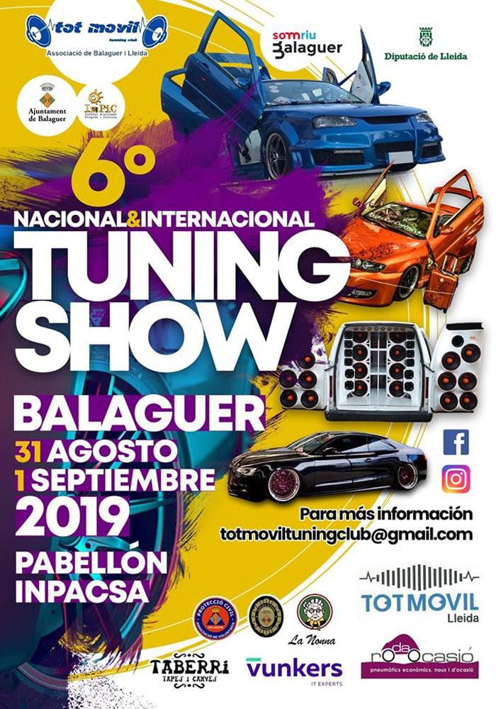 6° TUNING SHOW CIUDAD DE BALAGUER 2k19