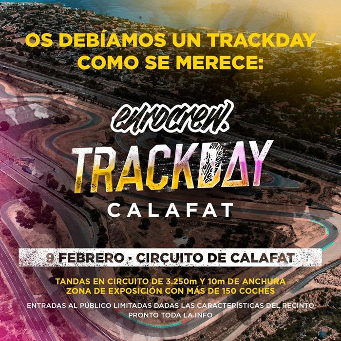 EUROCREW TRACKDAY CALAFAT